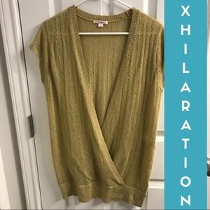 Xhilaration - Gold Knit Vest